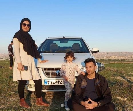 علی شکارچی مرد دو زنه اینستاگرامی
