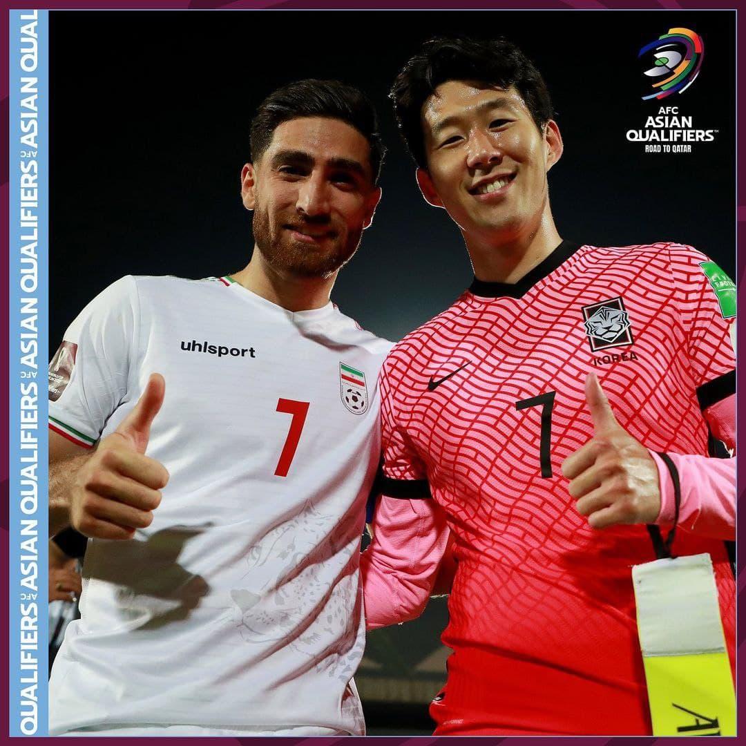 کاپیتان ایران و کره
