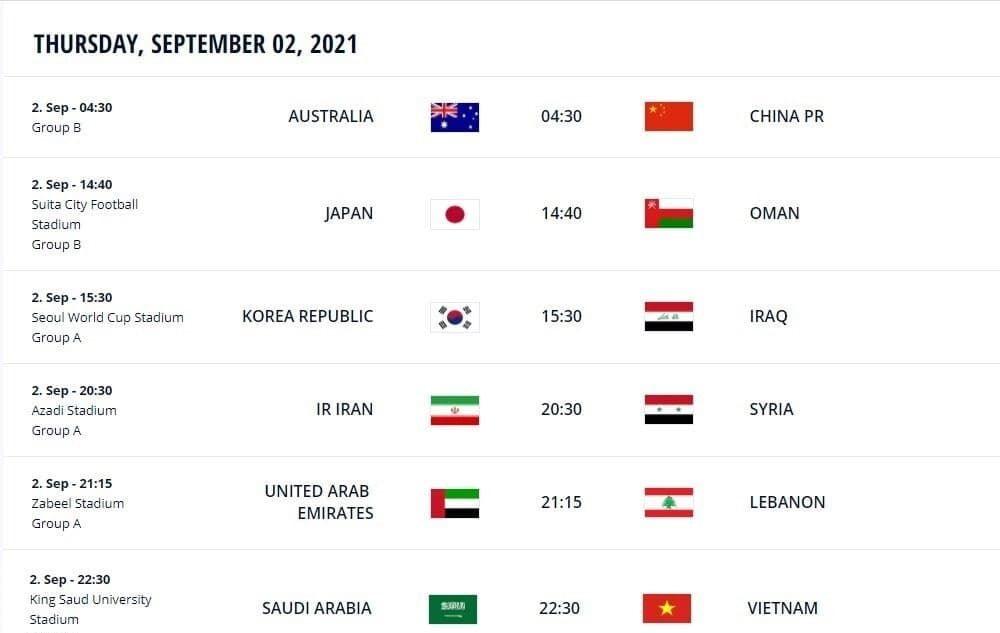 ساعت بازی تیم ملی فوتبال ایران و سوریه