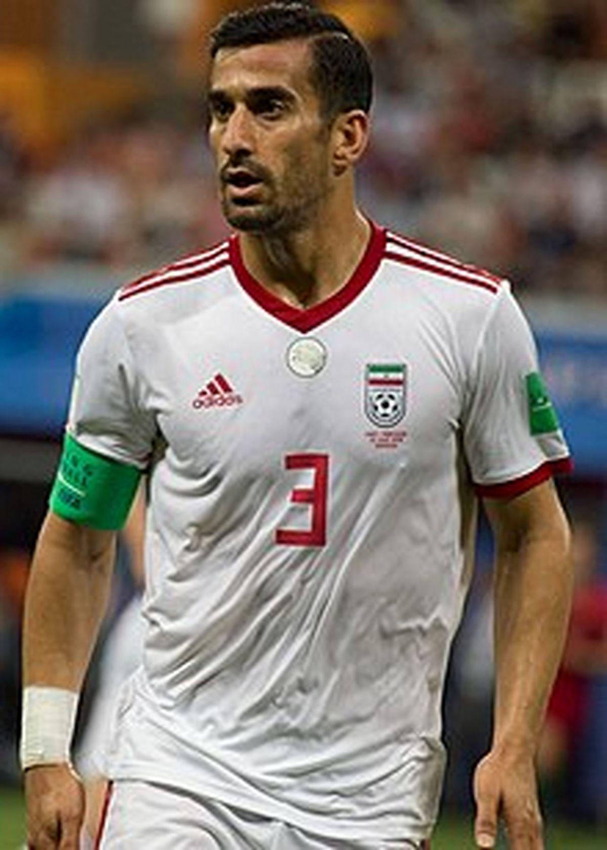 خداحافظی تاریخی احسان حاج صفی