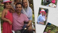 تیپ متفاوت مریم کاویانی در جشن تولد برادرش در خارج از کشور=عکس