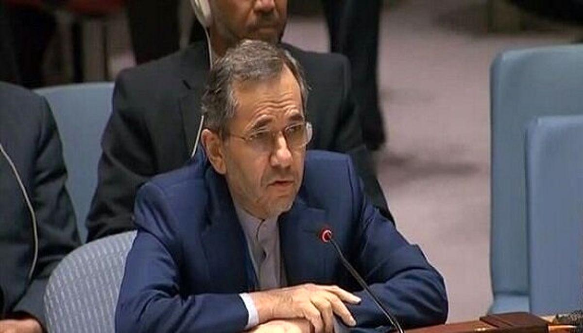 نطق نماینده دائم ایران در سازمان ملل متحد درباره تحریم ها+جزئیات بیشتر