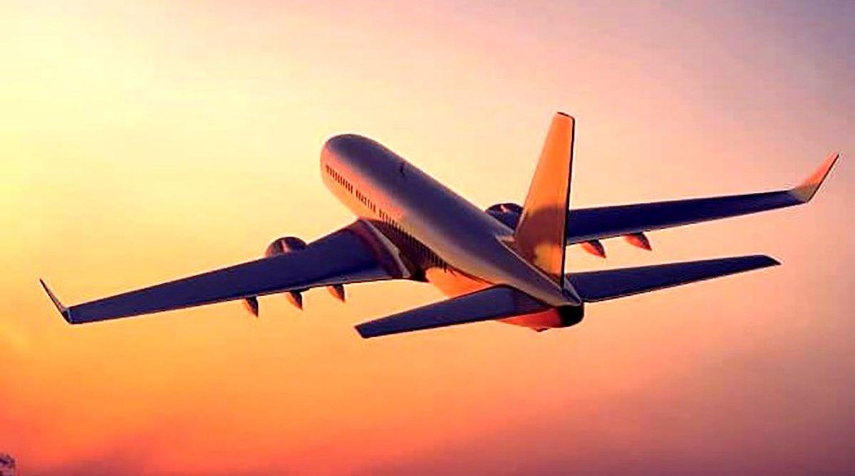 وحشت مردم از پرواز هواپیمای غول پیکر بر فراز استرالیا +فیلم
