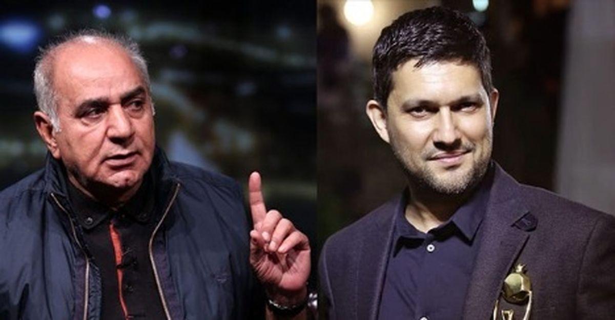 چرا حامد بهداد از پرویز پرستویی ناراحت شد؟+فیلم دیده نشده