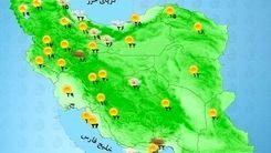 وضعیت آب و هوا امروز 1 شهریور 1400+ نقشه و جدول