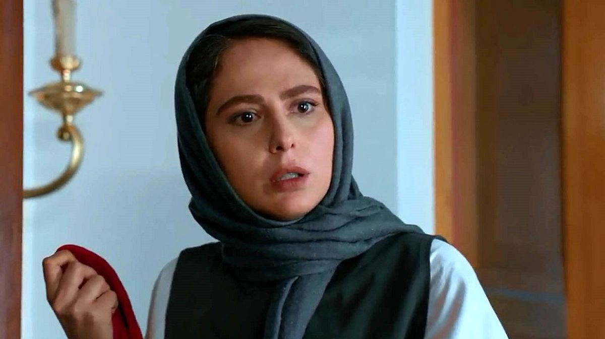 سلفی جنجالی سمیرا سریال زخم کاری و همسرش+ عکس