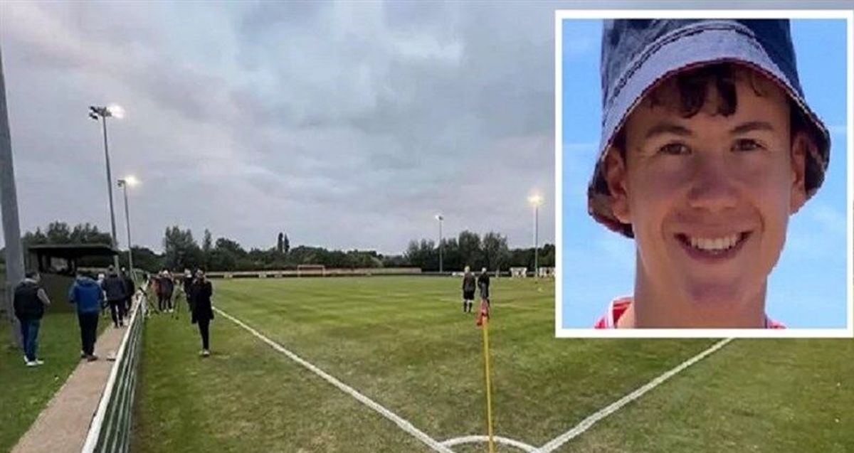 مرگ وحشتناک فوتبالیست جوان!