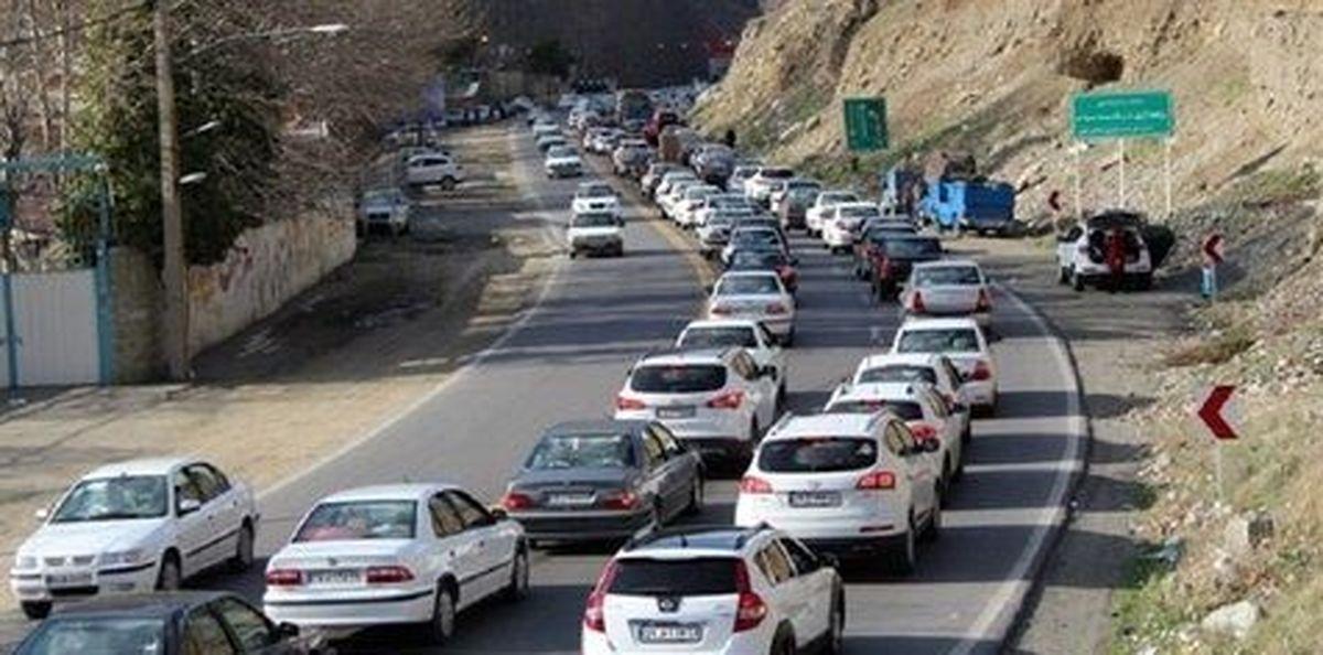 جاده هراز بسته شد/ منع تردد از چه ساعتی اعمال می شود؟