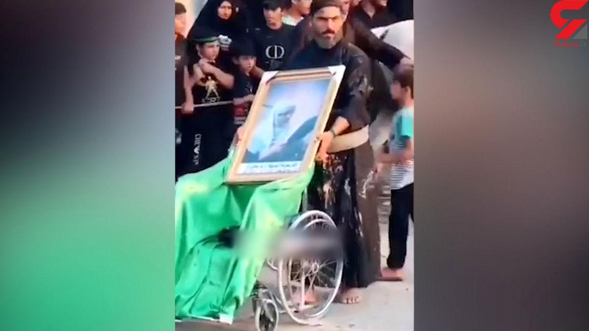 عکس ناراحت کننده این پسر در اربعین اشک همه را در آورد+عکس