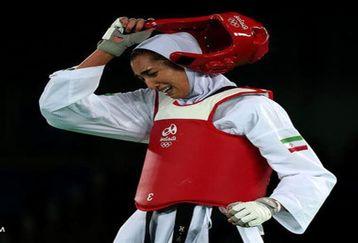 آه تکواندوی ایران کیمیا علیزاده را شکست داد!