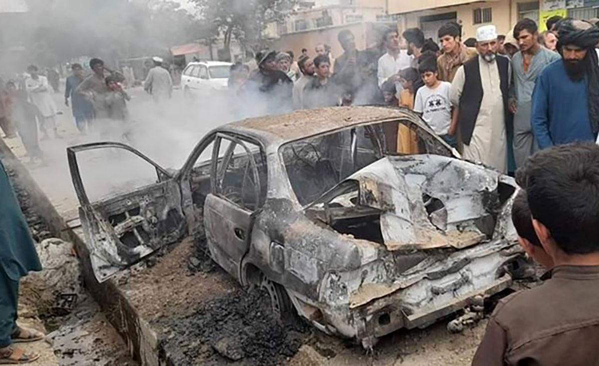 حمله موشکی به افغانستان آغاز شد/ فیلم لحظه اصابت موشک
