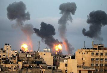 حمله راکتی گروه های مقاومت به شهرک های صهیونیستی + فیلم