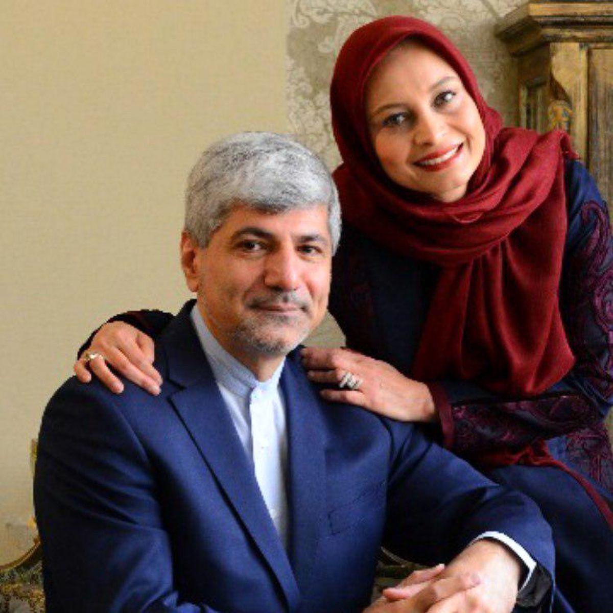 طلاق مریم کاویانی از شوهر سیاستمدارش+تصاویر