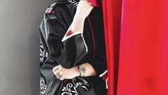 لباس ژاپنی سپیده خداوردی +عکس