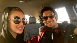 عکس لو رفته فوتبالیست معروف در کنار همسرش در دریا +عکس جدید