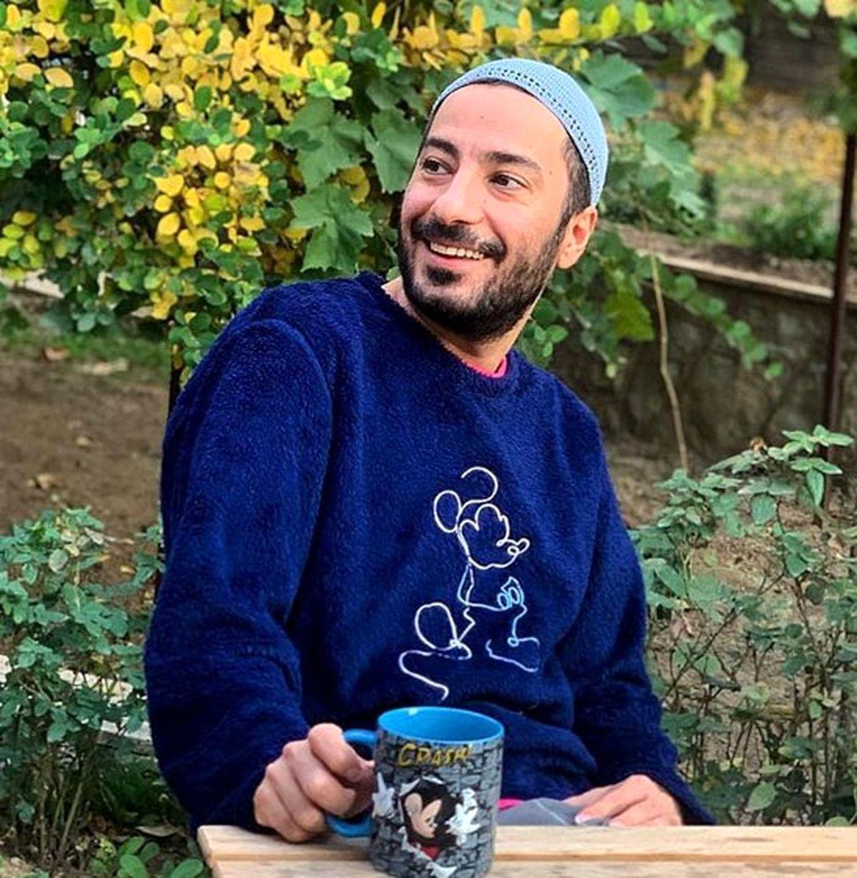 استوری عاشقانه نوید محمدزاده برای نامزدش+تصاویر دیده نشده نوید محمدزاده