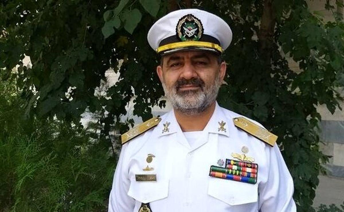 فرمانده جدید نیروی دریایی ارتش مشخص شد!