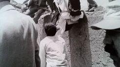 پرش دیدنی آیت الله هاشمی از روی دیوار +عکس