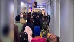 وضعیت وحشتناک ورود مسافران به ایران در فرودگاه امام+فیلم
