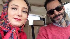 عکسی عجیب از سحر ولدبیگی و شوهرش بعد از کرونا