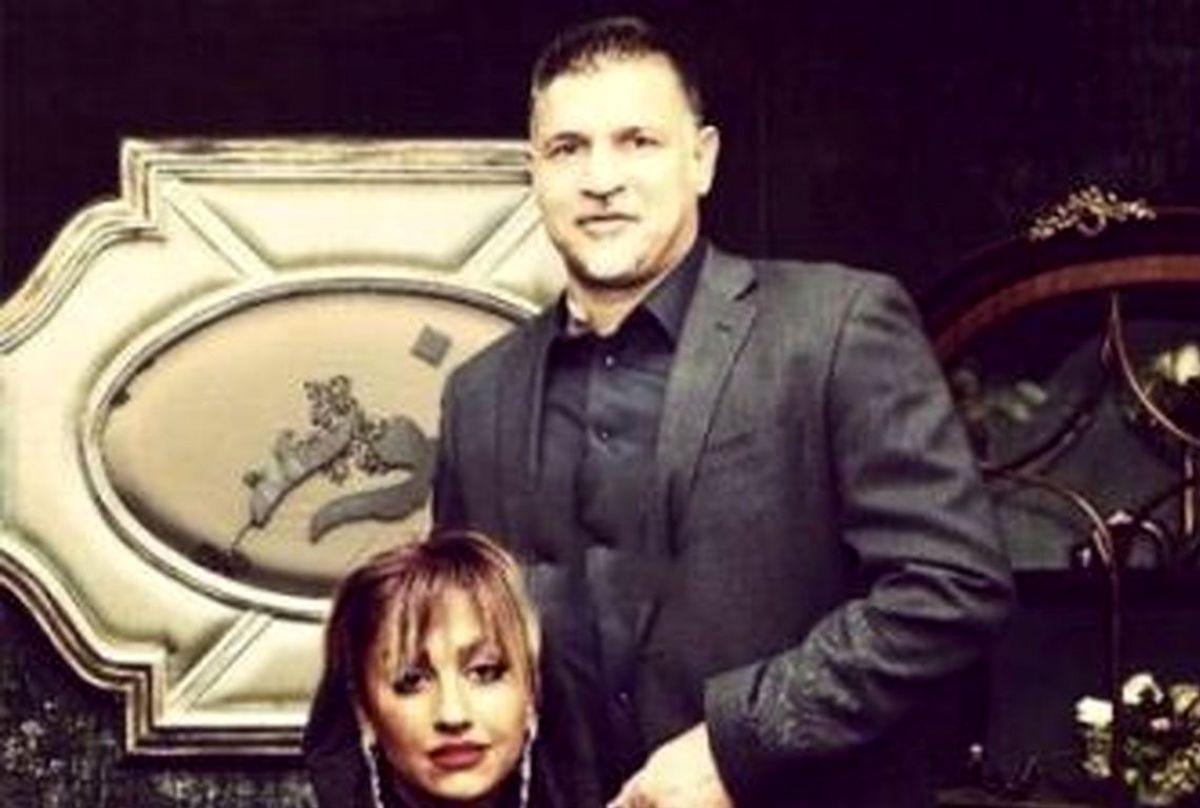 عکس لو رفته از علی دایی و همسرش در مهمانی شبانه+ عکس دیده نشده
