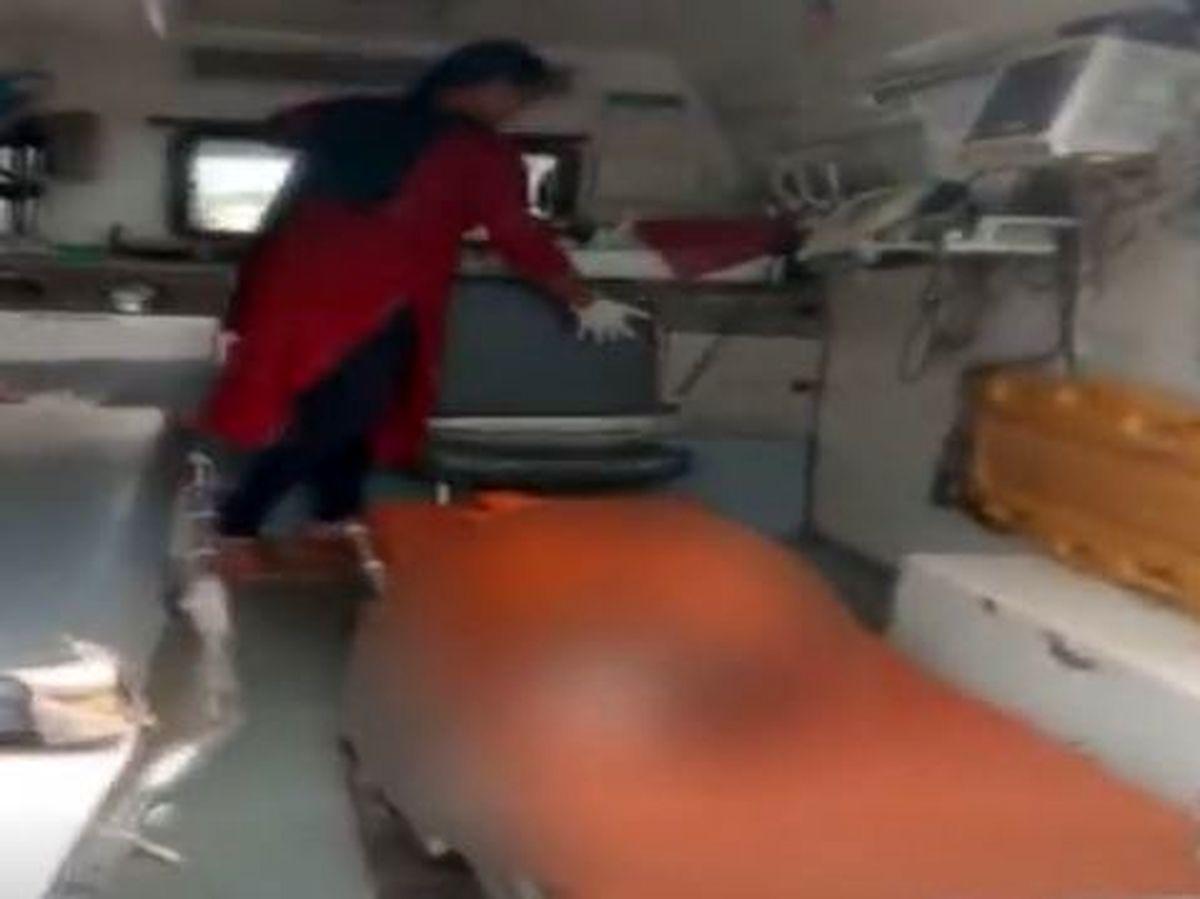 پسر ۲ ساله قربانی جادوی سیاه شد +عکس هولناک