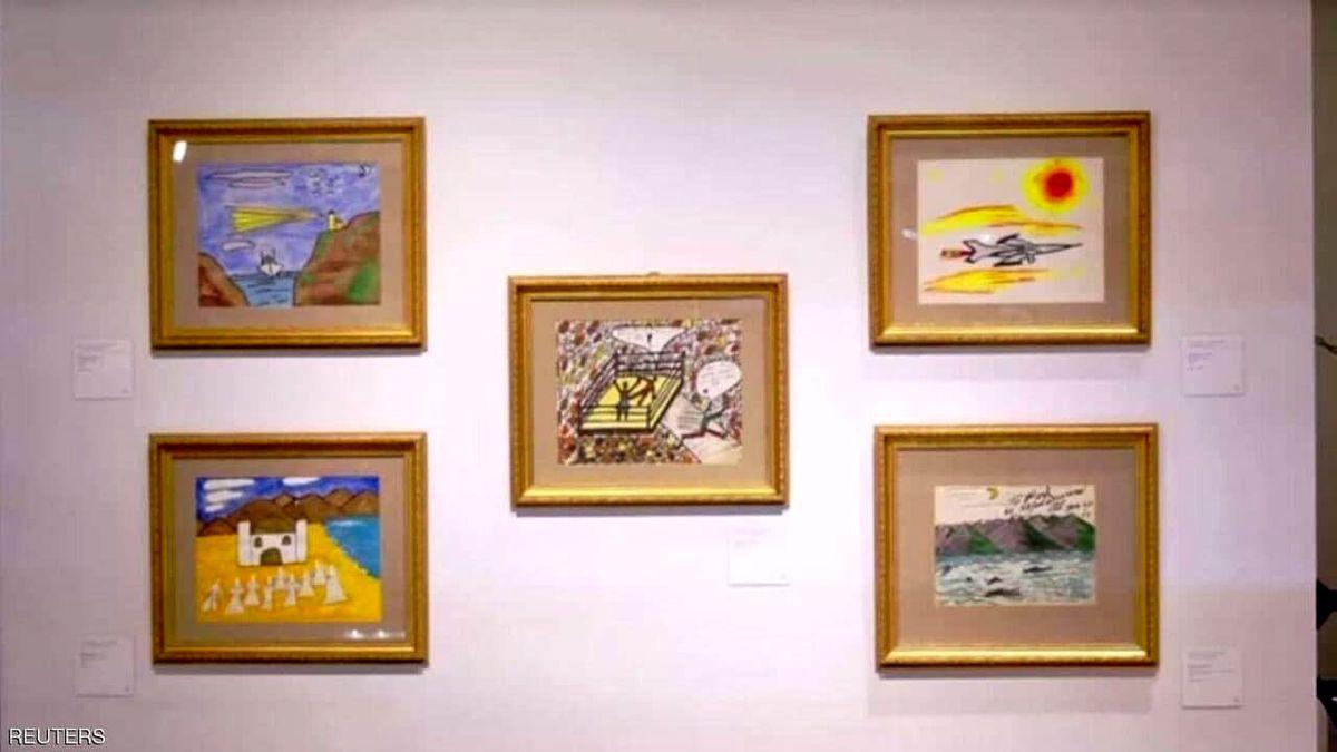 فروش آثار نقاشی بوکسور معروف حاشیه ساز شد! +عکس