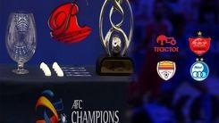 ساعت بازی نمایندگان ایران در لیگ قهرمانان آسیا اعلام شد!