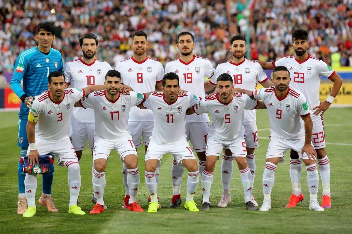 تیم ملی ایران کجای جدول رده بندی است؟
