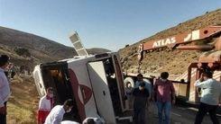 مقصر اصلی واژگونی اتوبوس خبرنگاران مشخص شد!+جزئیات بیشتر