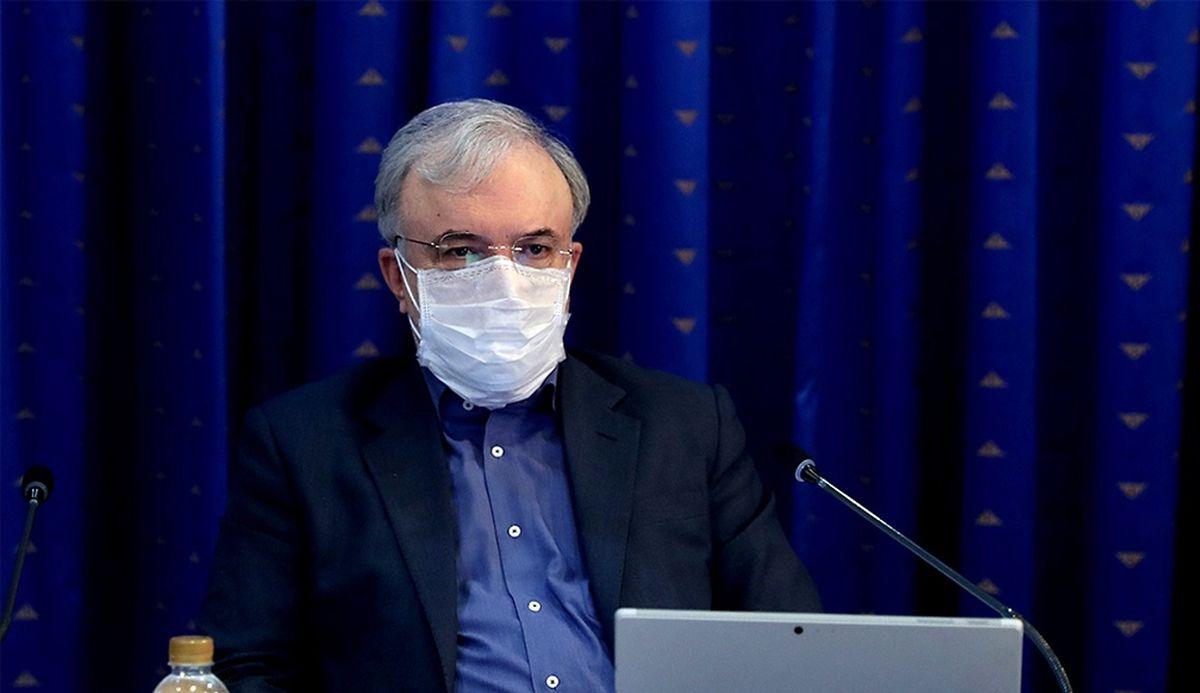 ادعای جدید وزیر بهداشت درباره واکسن کرونا!