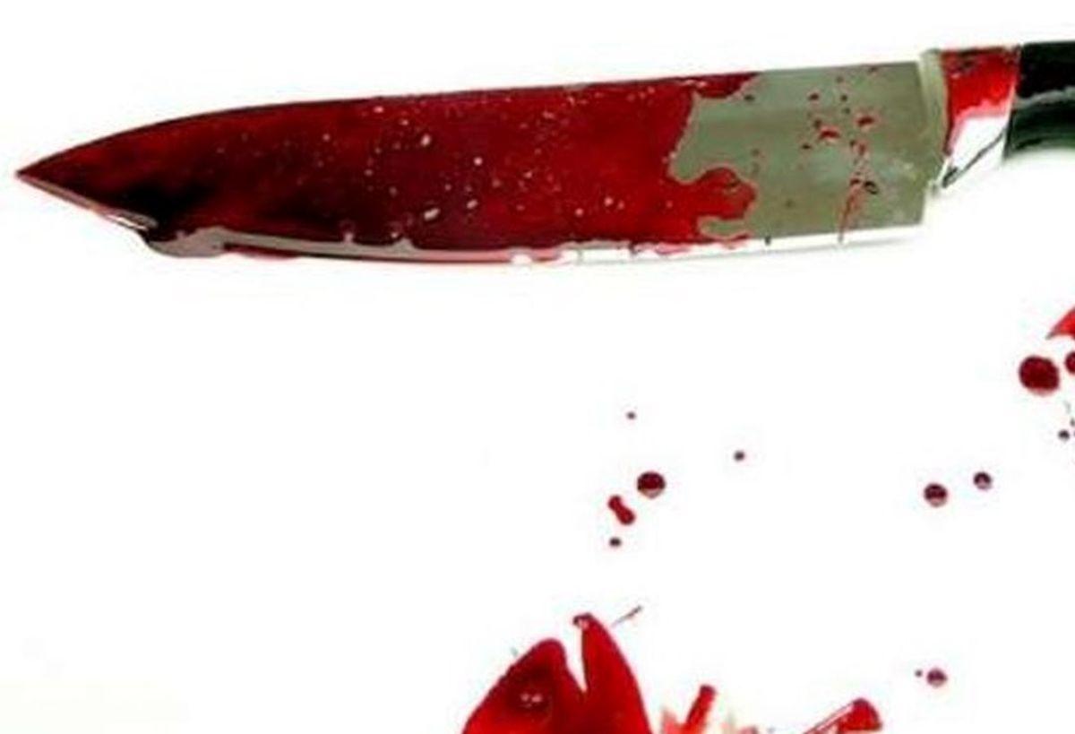 لحظه وحشتناک تهدید زن جوان با چاقو +فیلم لو رفته