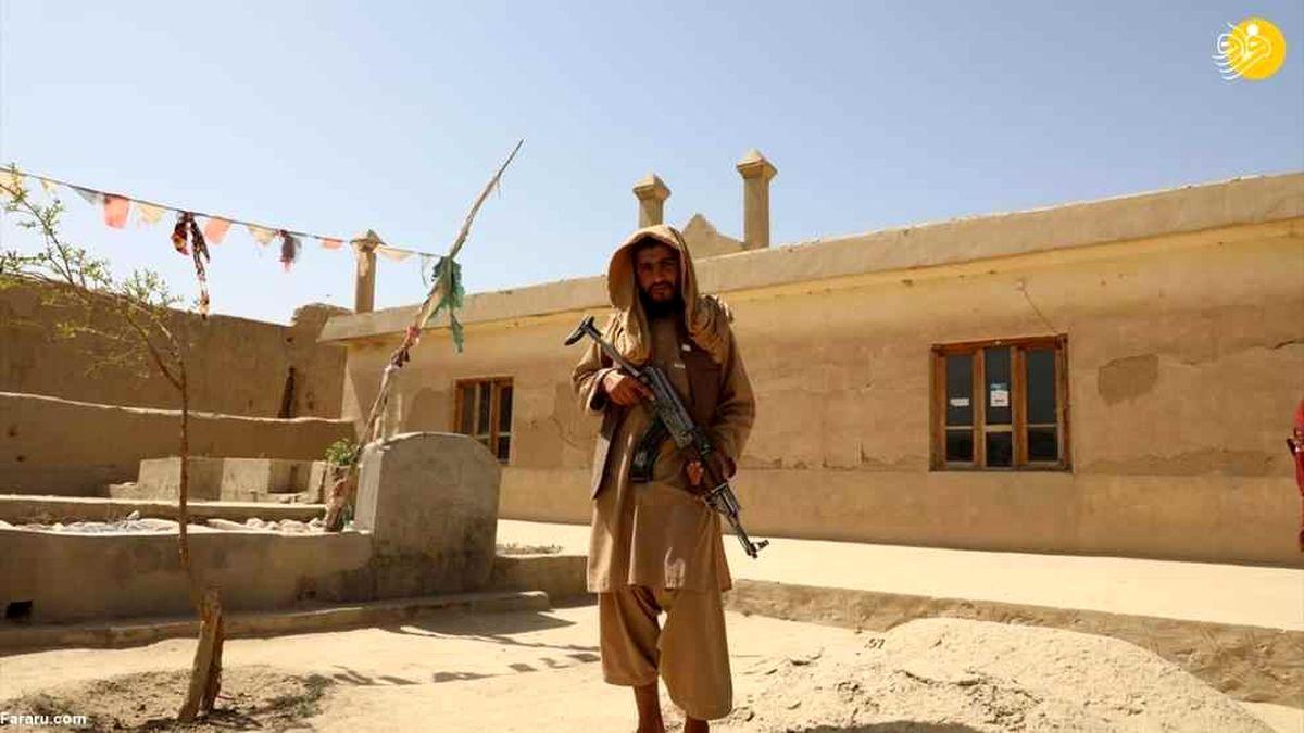 این روستا زادگاه گروه طالبان است +فیلم